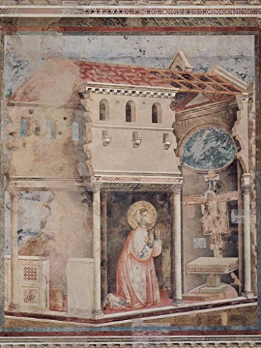 Lais Puzzle Giotto di Bondone - Gebet des HL. Franziskus in San Damiano 500 Teile