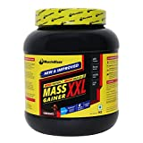 MuscleBlaze Mass Gainer XXL with Complex Carbs and Proteins in 3:1 ratio, 2.2 lb (Chocolate)