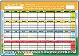 Kartenversand24 Stadt Land Fluss Block Din A4 für Kinder und Erwachsene unterwegs Geschenkidee Geburtstag Gesellschaftsspiel Junior mitbringspiel Quiz Reisespiel Reise Spiel Trinkspiel Vorlage Set