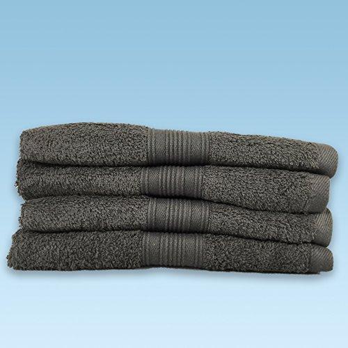 Handtuch-Set,2-4&6er Pack Frottier Handtücher Set 70x140cm-100x150cm Qualität 500 g/m² - 100% Baumwolle (2 Pack Badetuch 100x150cm, Anthrazit)