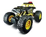 Maisto Tech R/C Rock Crawler 3XL: Ferngesteuertes Auto in Monstertruck-Ausführung, mit Allradantrieb und Pistolengriff-Fernsteuerung, 39 cm, schwarz-gelb (581157)
