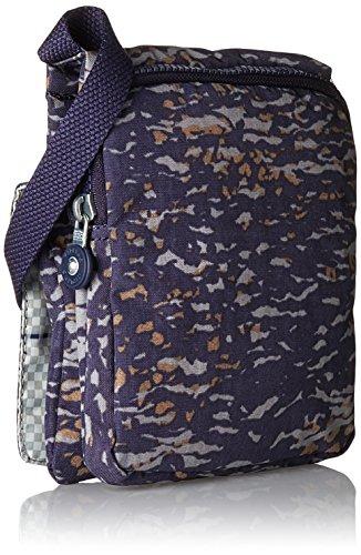Kipling ELDORADO K13732, Borsa a tracolla donna, 15 x 19 x 2 cm (L x A x P) Multicolore (Water Camo)