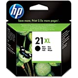 HP 21XL - Cartucho de tinta Original HP 21XL de álta capacidad Negro para HP DeskJet 2130, 3630 HP OfficeJet 3830, 4650 HP ENVY 4520
