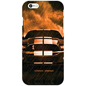Apple iPhone 6 Back Cover - Zap Car Designer Cases