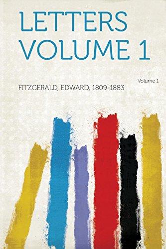Letters Volume 1 Volume 1