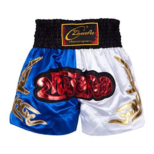 Mcaishen Muay Thai Fight Shorts Boxing Sanda Ropa Pantalones Cortos De Entrenamiento Lucha Artes Marciales...