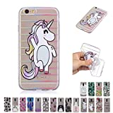 V-Ted Coque Apple iPhone 7 8 Chat Licorne Silicone Ultra Fine Mince Bumper Housse...