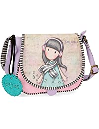 Gorjuss Time To Fly Sac bandoulière, 23 cm, 4.01 liters, (Multicolor)