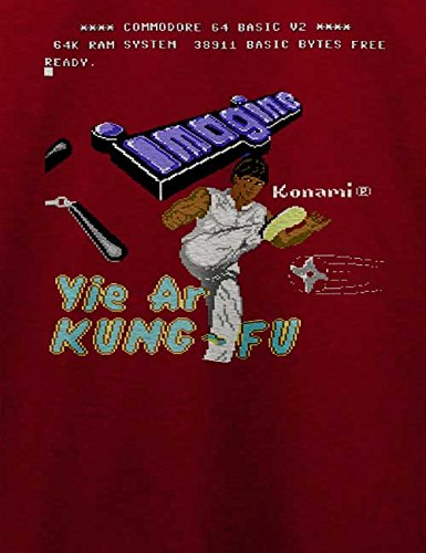 Yie Are Kung Fu T-Shirt Bordeaux