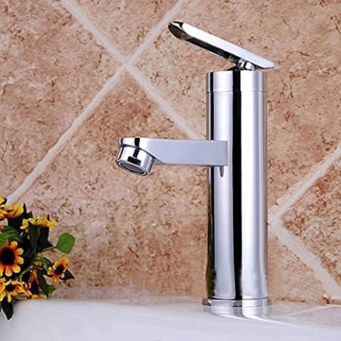Le cuivre de l'eau chaude et froide Robinet mélangeur Lavabo Cuisine Salle de Bain lavabo robinet BBHYY