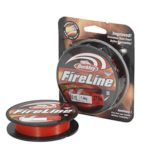 Berkley Fireline 270M 0.17MM rot