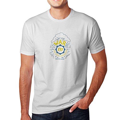 Planet Nerd - War never changes in the Wasteland - Herren T-Shirt, Größe XL, weiß Cola Kostüm Kinder