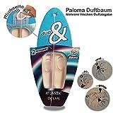 Paloma Wunderbaum Duftbaum Lufterfrischer Wunder-Baum Autoduft Verschiedene Düfte (Atlantic & Ocean, 1er Set)