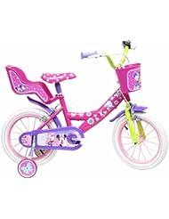 """Disney 13127 - 14"""" Bicicletta Minnie, Rosa"""