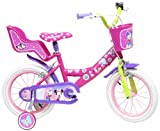 "DENVER BIKE 13127 Denver ''14"" Disney Minnie Mouse'' Bike, Multi Colour"