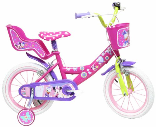 Disney Minnie Mouse Vélo Enfant Rose 14""