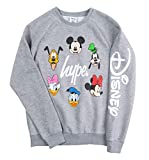 Hype Grey Disney Characters Crewneck Sweater from
