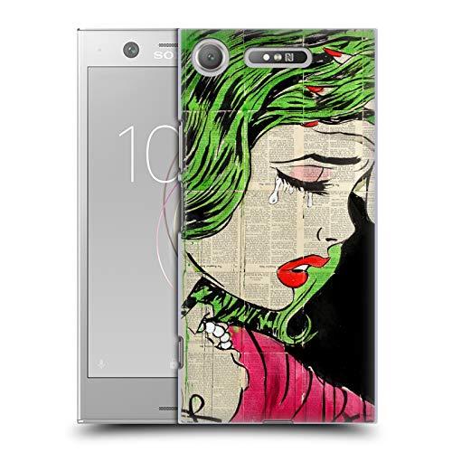 fizielle LouiJoverArt Prinzessin Pop Art Harte Rueckseiten Huelle kompatibel mit Sony Xperia XZ1 / Dual ()