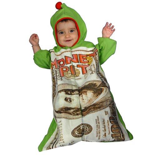 Dress Up America 452-12mo Geld Pit Kleinkind Outfit - Größe 0-12 Monate, 6-12 Monate (7-9,5 kg, 61-71 cm Höhe)
