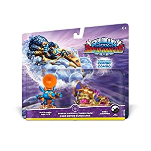 Skylanders Superchargers: Dual Pack 3 (Big Bubble Pop Fizz, Soda Skimmer)