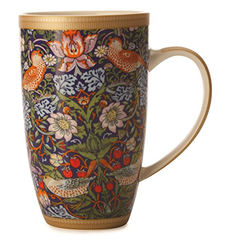 maxwell-williams-420-ml-porcelain-william-morris-strawberry-thief-coupe-mug-blue