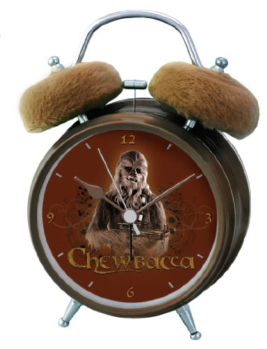 Star Wars Wecker mit Chewbacca Sound Analog 21602