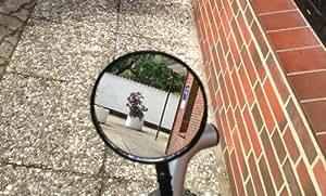 MQ Fahrradspiegel Rückspiegel Fahrrad Spiegel flexibel inkl. Reflektor