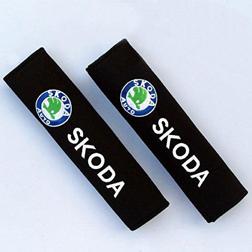 SKO - Almohadillas para cinturón de seguridad con emblema bordado e5a491b349e