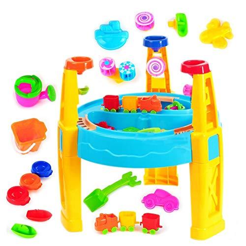 YMUUIHC Kreativer Strand, Wasserspielzeug, Multifunktionaler Sand, Wasser, Kassie, Kinderspielzeug.