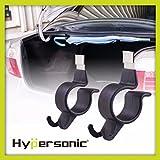 Hypersonic® HP3517 Universal Regenschirmhalter fürs Kofferraum Befestigungshacken Halter für Angelrute etc. Leichte Montage Umbrella Hook