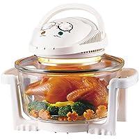 17 Liter Halogenofen Heissluftofen Mini Backofen Heißluft Halogen Ofen 1.300 Watt