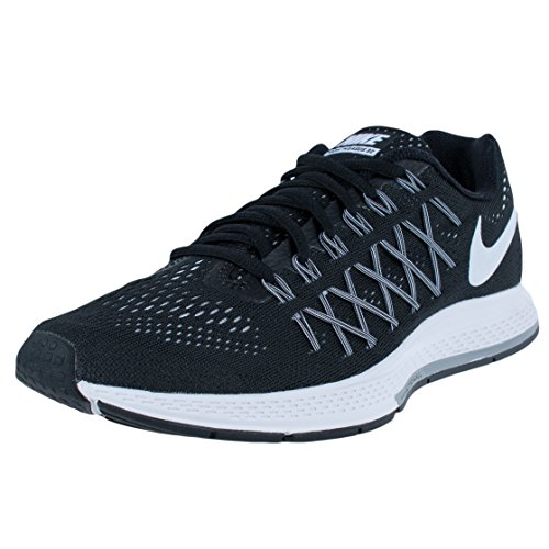 Nike Wmns Air Zoom Pegasus 32 Damen Gymnastikschuhe Negro (Black / White-Pure Platinum)
