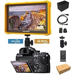 Jaune Lilliput A7S-2 7 1920x1200 IPS Ecrans Pouces Moniteur sur Caméra Field Monitor 4K HDMI Video DSLR Camera A7 A7R A7S II A6500 GH4 GH5 5D 4 IV 6D 7D 70D 80D Ronin 2