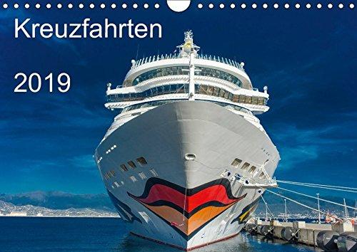 Kreuzfahrten 2019 (Wandkalender 2019 DIN A4 quer): Maritime Erinnerungen rund um das Mittelmeer (Monatskalender, 14 Seiten ) (CALVENDO Orte)