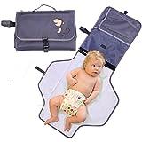 ZEEUPAI - Cambiadores de pañales plegable portátil para bebé en viaje al aire libre