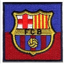 Parches - FC BARCELONA  ESCUDO  - azul rojo oscuro - 6x6cm - by fbbe79c55079e