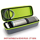 Tizum EchoPlus-G Travel Portable Hard Case Pouch for Echo Plus (Grey)