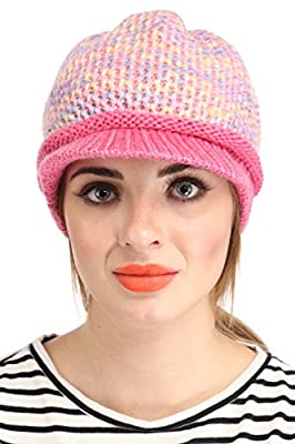 ELLIS Multi WOOLEN CAP AND MUFFLER SET FOR WOMEN