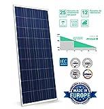 SunneSolar - Panel Solar de Policristalino con 72 células 330W 24V ideal para vivienda habitual...