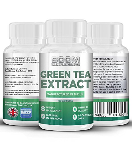Green Tea Extract 850mg Max Strength | 120 Powerful Fat Loss Capsules | Green Tea Capsules | Helps Shed Fat For Men And Women | Achieve Weight Loss Goals FAST | Safe And Effective | Best Selling Fat Loss Pills | Manufactured In The UK! | Results Guaranteed | 30 Day Money Back Guarantee Test