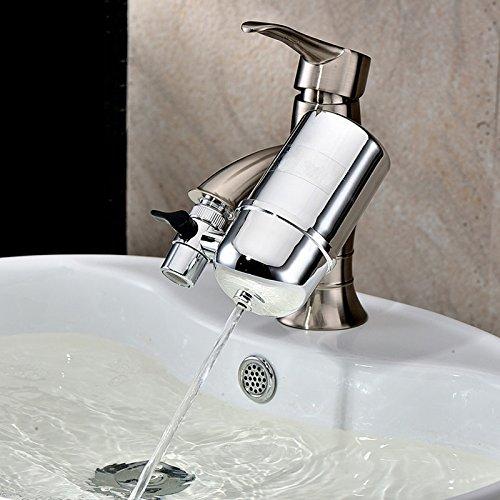 Zantec Healthy Wasserhahn Wasser Filter System–Leitungswasser Luftreiniger Filter Wasser Purifying Gerät für Home Küche, Wasserhahn Halterung Filter mit Advanced Wasser Filtration