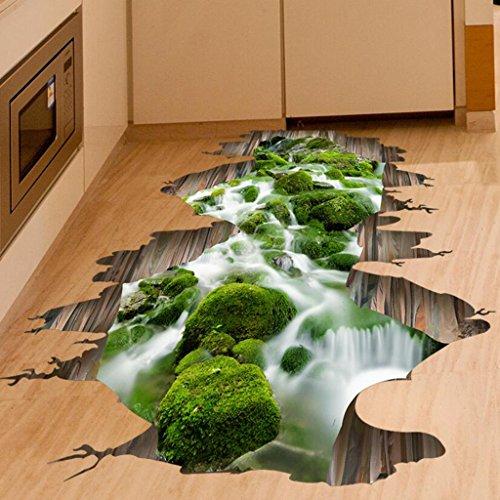 Longless 3d dreidimensionale Verschönerung Dekoration, kreative einfügen, Wohnzimmer Sofa, Paste, Flur PVC wasserdicht Wand Aufkleber