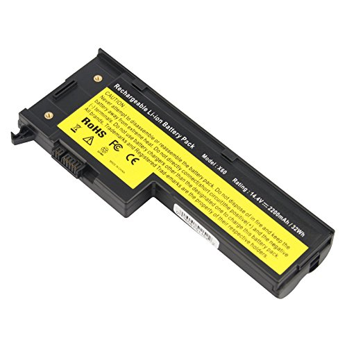 Irvine Laptop Battery For Ibm Lenovo Thinkpad X60 X60S X61 X61S Series 4 Cell
