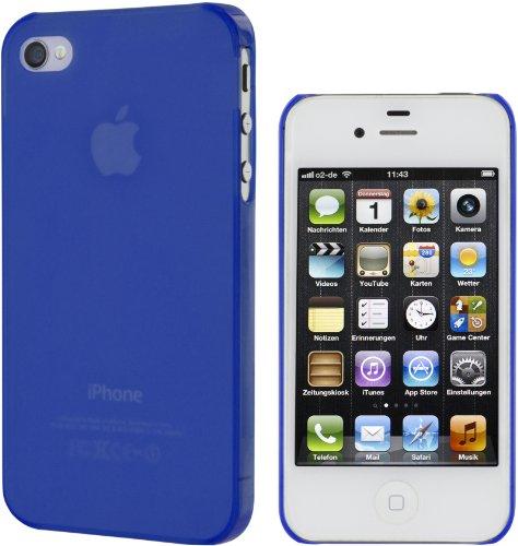 Artwizz SeeJacket Clip Light Rückseitenschutz für Apple iPhone 4/4S violet Dunkelblau