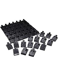 Wholesale Lot of 50 Black Acrylic Ring Display Clip Stand