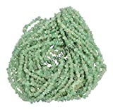 #9: 10 strands (34 inch) of Natural Aventurine Gemstone uncut chips nuggets beads, green grapes Color, wholesale price, Prepared exclusively by Ratnagarbha.