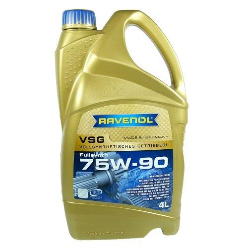 Cambio olio 75W-90VSG vollsyntetisch, 4liter
