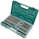 Kamasa 55701 Coffret clés étoilées, cannelées &- Jeu de clés Allen, 10 Pozi)