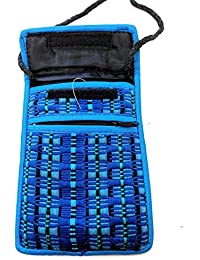HIPPY FAIRTRADE BRIGHT MEXICAIN IMPORT EPAULE COIN m50 PHONE BAG Voyage Purse