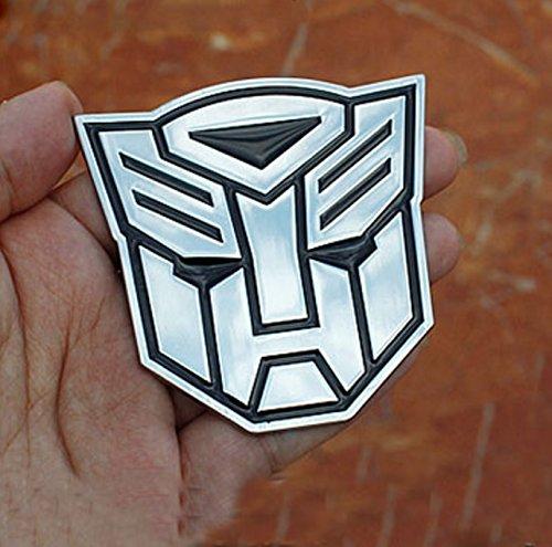 S2S™ Metal Transformer Car Decal 3D Decoration Logo Alloy Zinc...